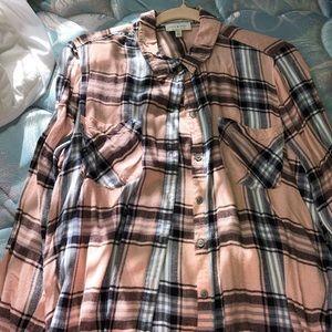Lucky brand button down blouse
